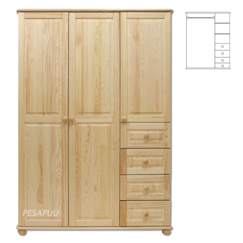 Riidekapp Pine 138 SF108