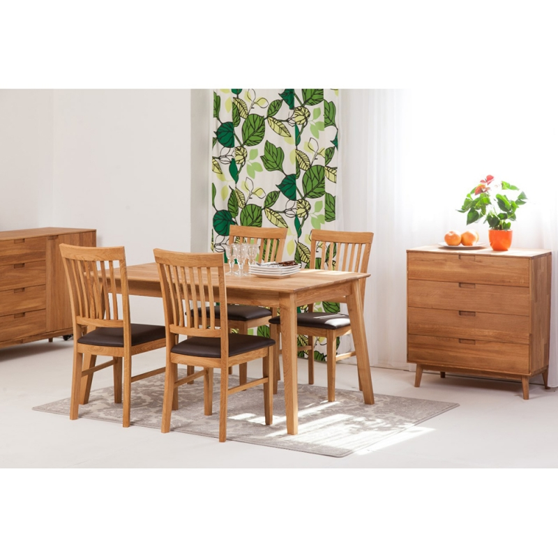 Laud Genf 140x90 9230 + 4 tooli Ronny