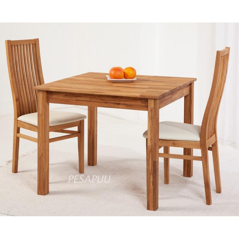 Laud Lem 90x90 9241 + 2 tooli Sandra