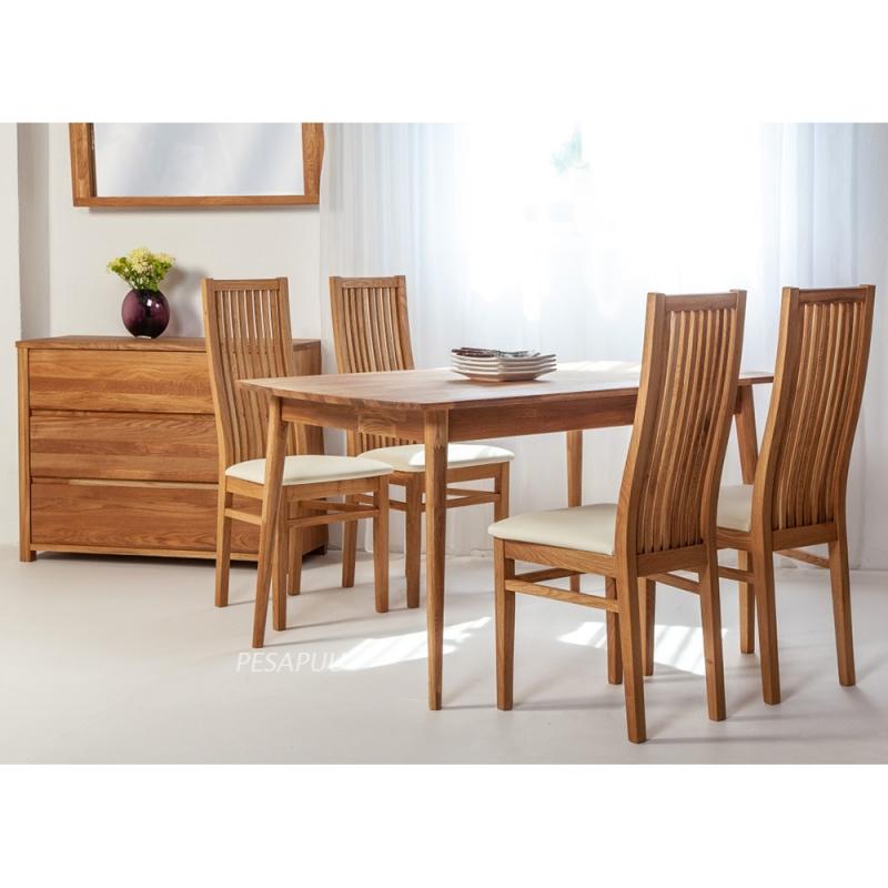 Laud Scan 140x90 9284 + 4 tooli Sandra