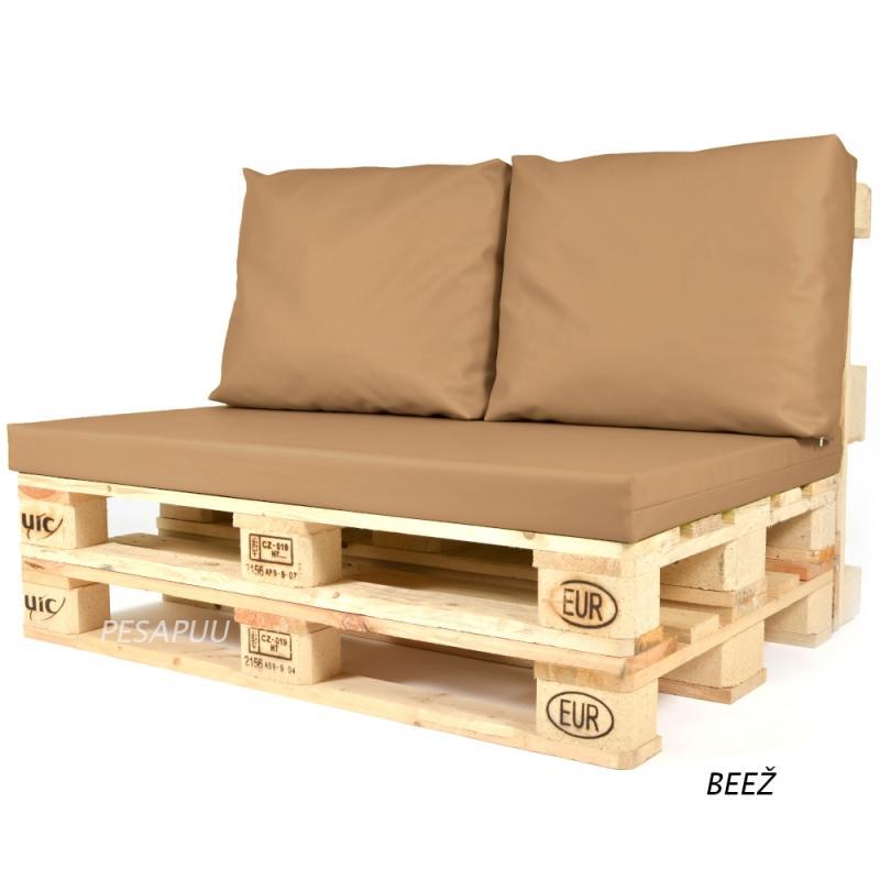 Istumismadrats + seljatoepadjad 2tk euroalusele Original
