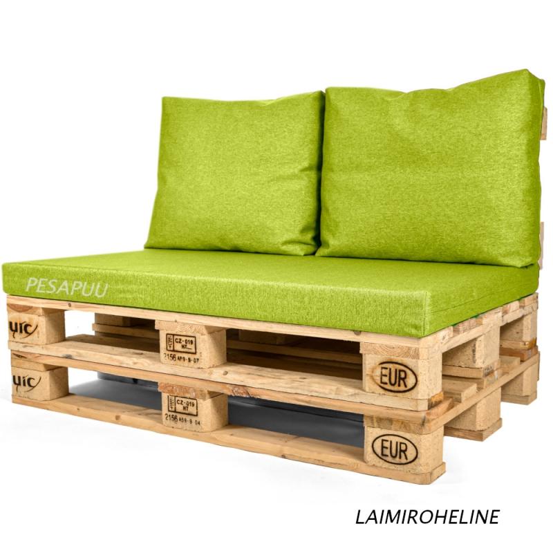 Istumismadrats + seljatoepadjad 2tk euroalusele Style