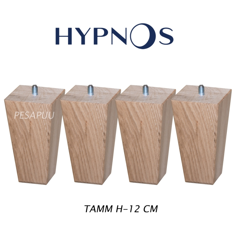 Vedruvoodi Hypnos koonusjalad H-12, tamm 60/40