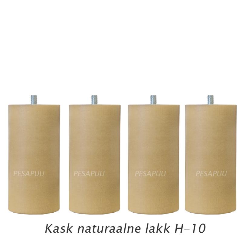 Vedruvoodi Hypnos silinderjalad H-10, naturaalne