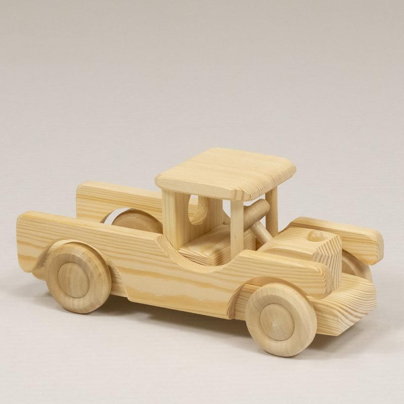 Puidust Jeep, väike