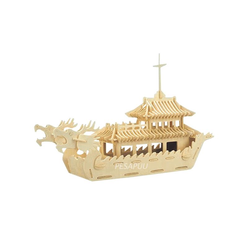 3D pusle Draakon-laev