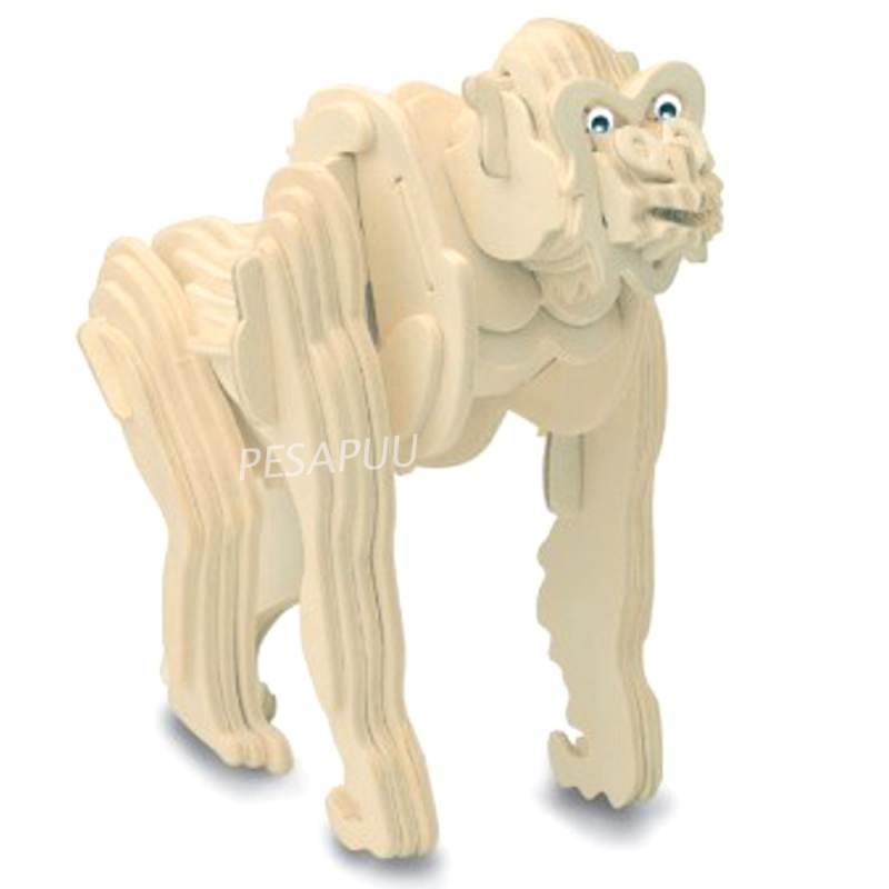 3D pusle Gorilla