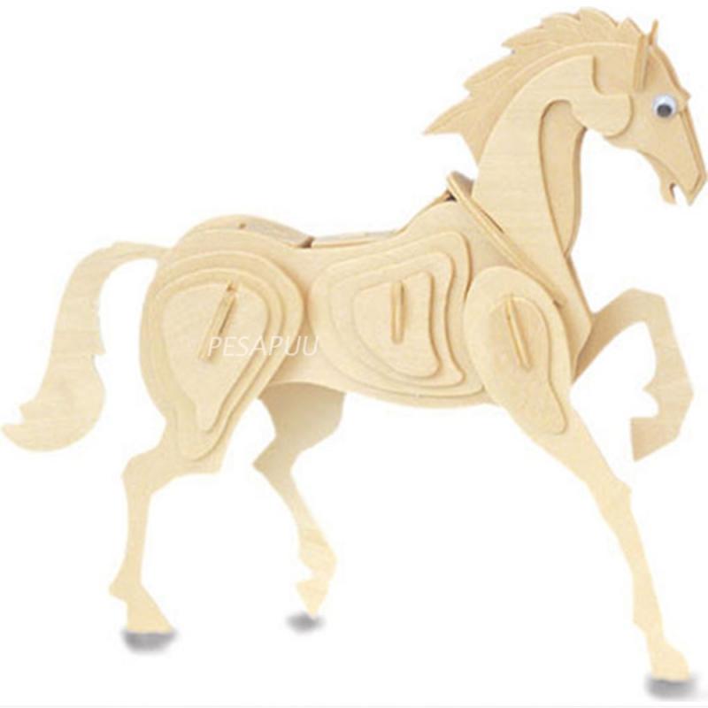 3D pusle Hobune