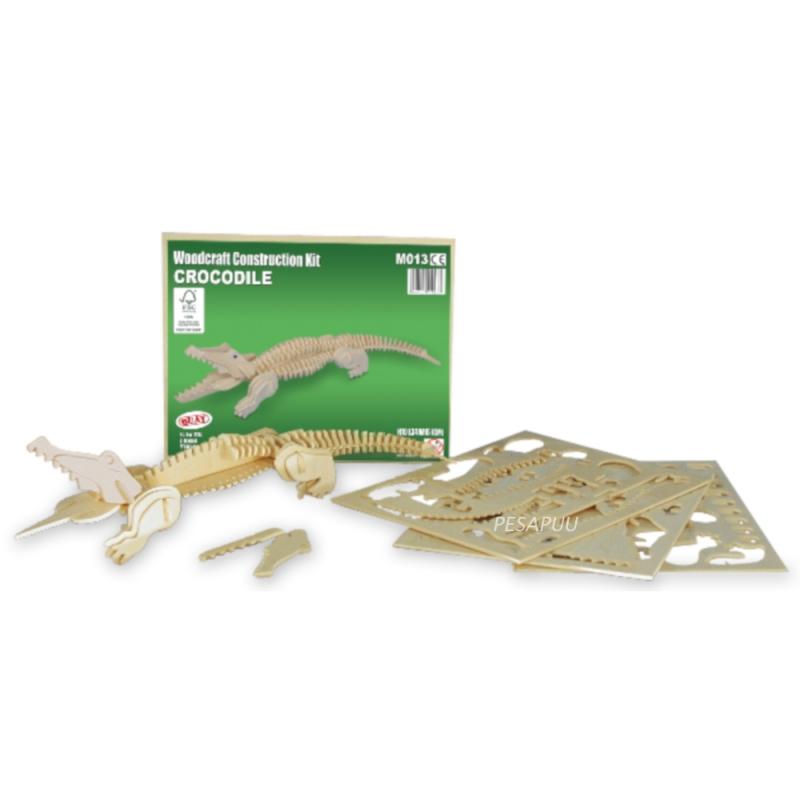 3D pusle Krokodill