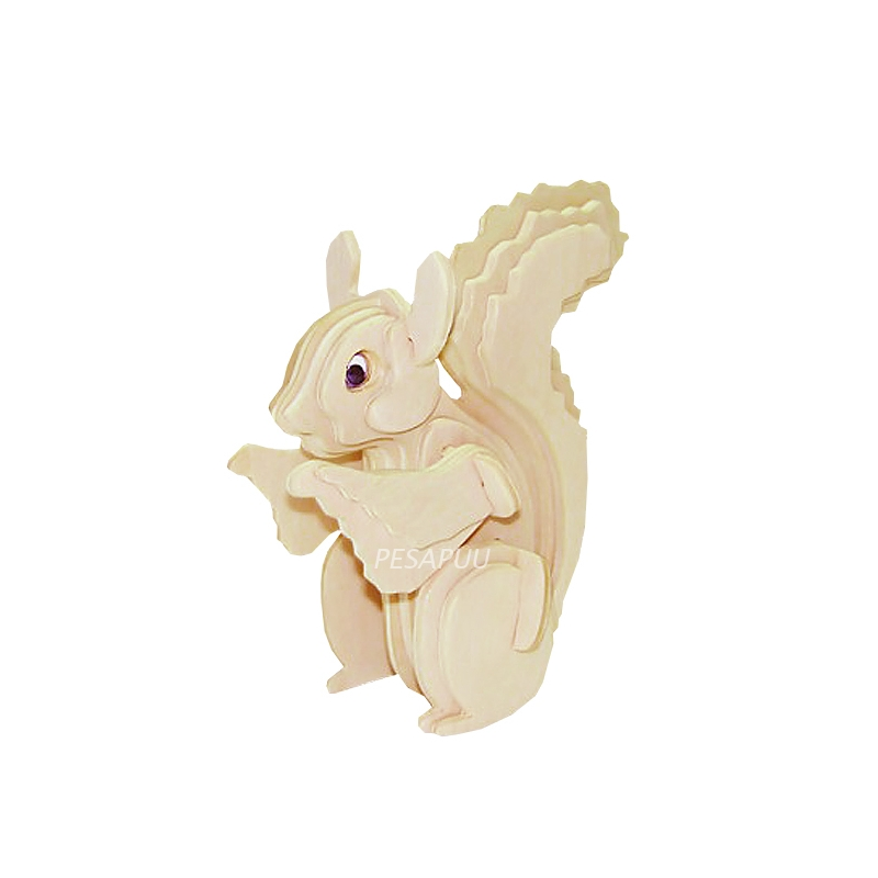 3D pusle Orav