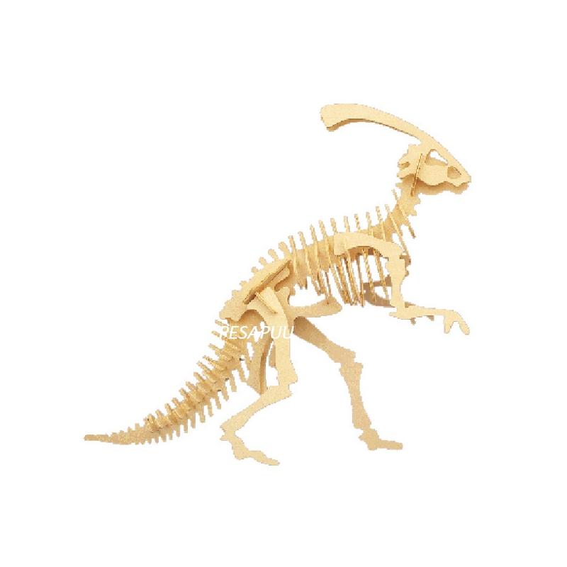 3D pusle Parasaurolophus