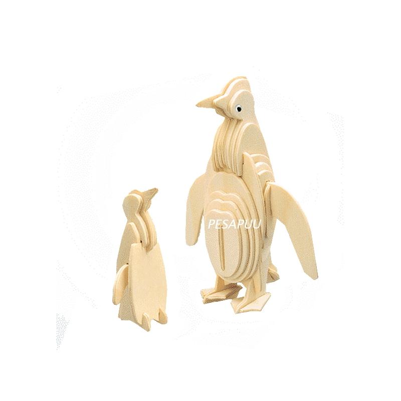 3D pusle Pingviinid