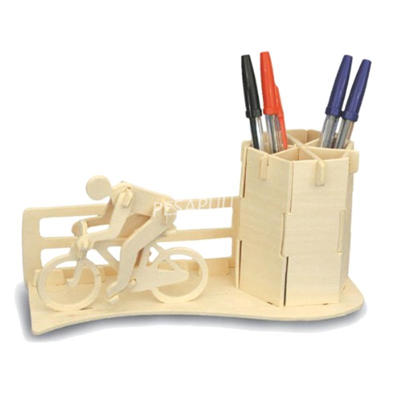 3D pusle rattur-pliiatsihoidja