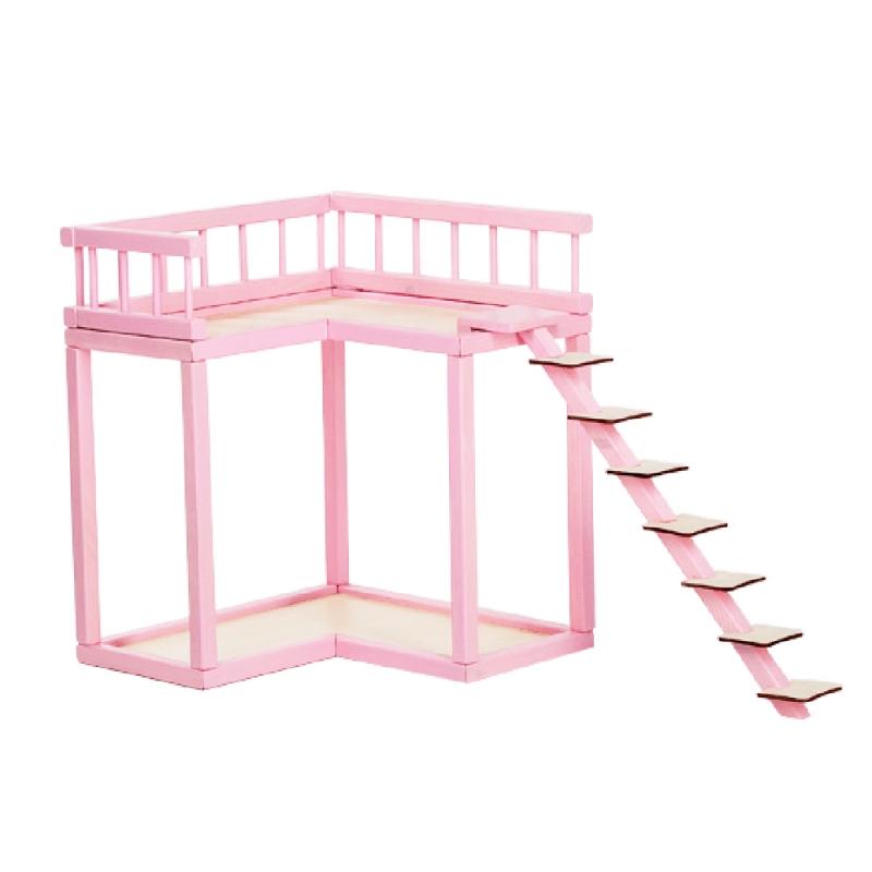 Nukumaja Roosi rõdu, roosa