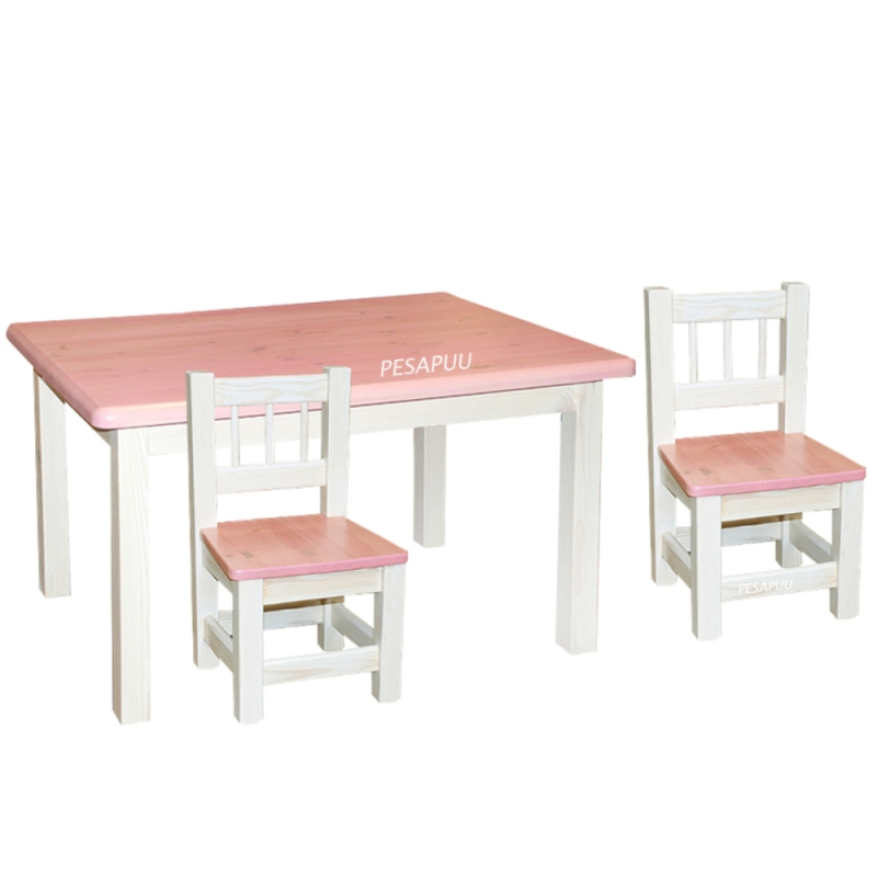 Lastelaud Miki 70x100 + 2 Miki tooli eri