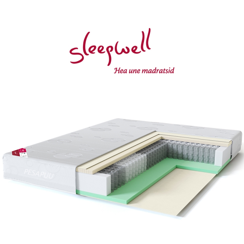 Vedrumadrats RED Pocket Plus 160x200 Sleepwell