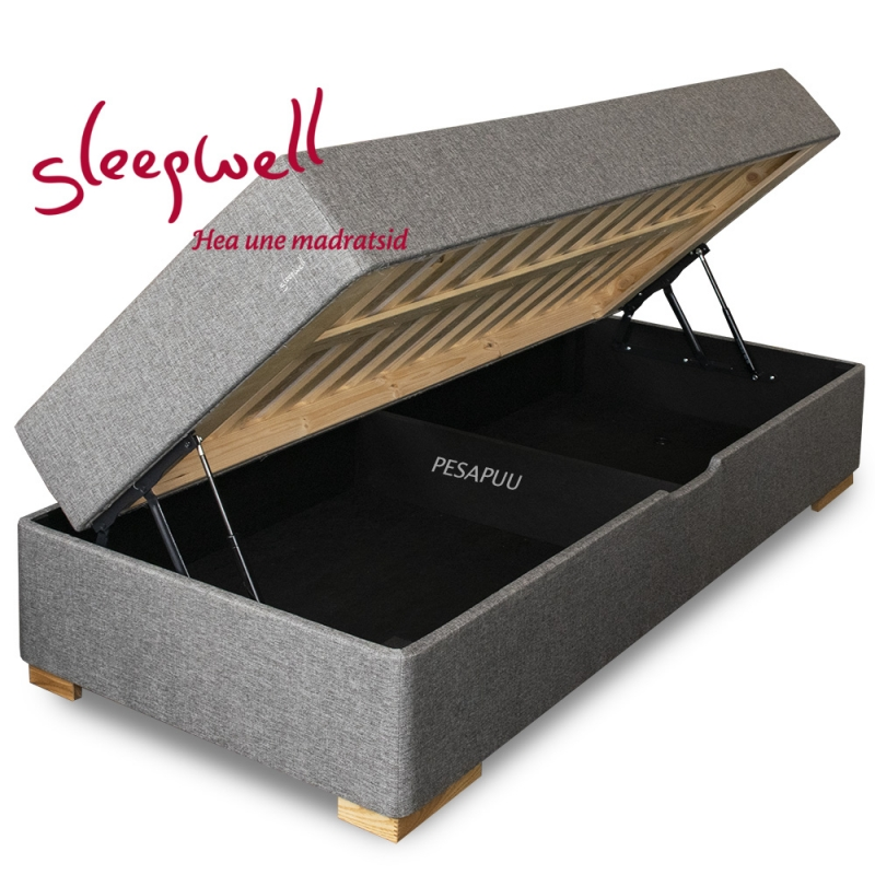 Vedruvoodi RED Pocket Storage jäik 80x200 Sleepwell