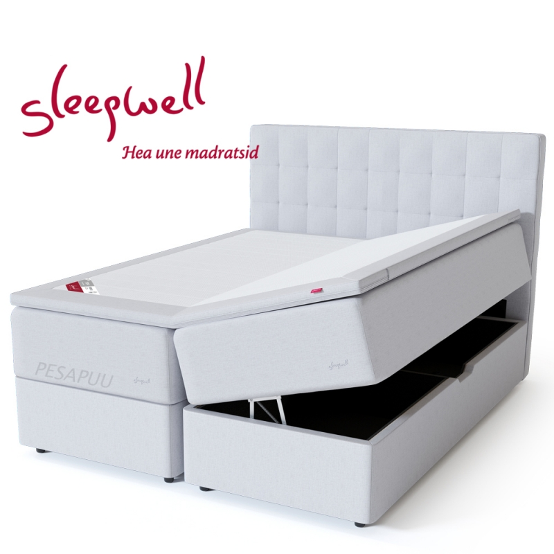 Vedruvoodi Red Pocket Storage 160x200 pehme Sleepwell