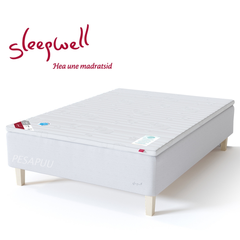 Vedruvoodi RED Pocket 120x210 pehme Sleepwell, erimõõt