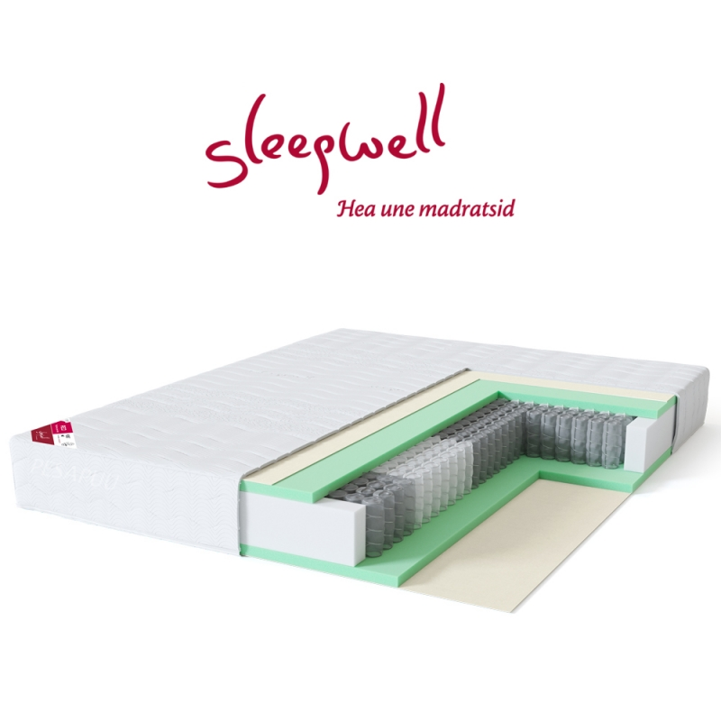 Vedrumadrats RED Pocket 160x200 Sleepwell