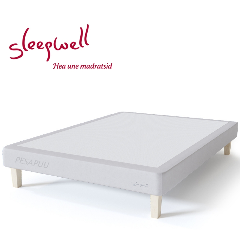 Voodiraam RED 120x190 Sleepwell, erimõõt
