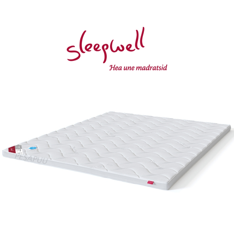 Kattemadrats TOP HR-Foam Plus 160x200 Sleepwell