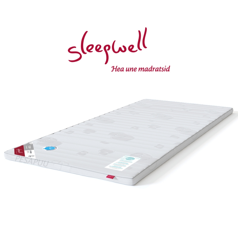 Kattemadrats TOP HR-foam Soft 90x200 Sleepwell