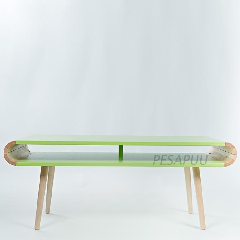 Diivanilaud FUN sahtlita roheline