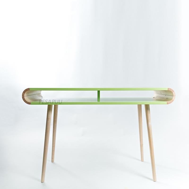 Kirjutuslaud FUN sahtlita roheline