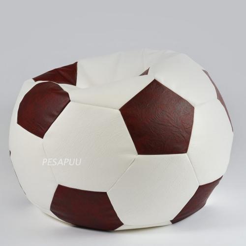 Kott-tool Jalgpall antiikpunane-valge PESAPUU.jpg