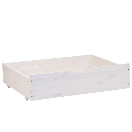 Voodikast Nova pikendatavale voodile valge PESAPUU.jpg