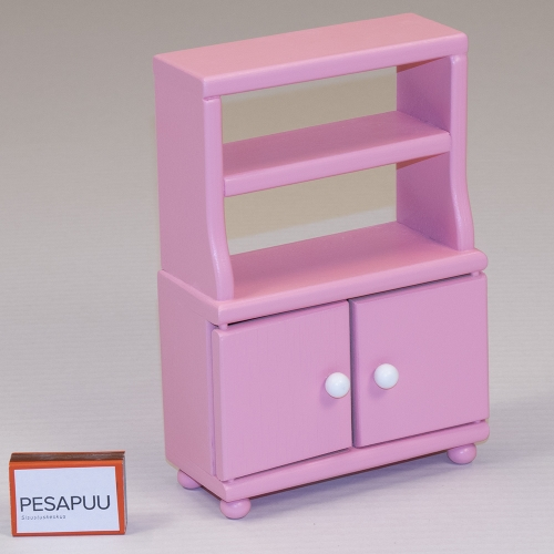 Nuku kapp riiuliga Roosi roosa PESAPUU.jpg
