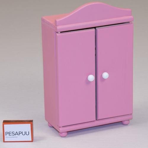 Nuku riidekapp Roosi roosa PESAPUU.jpg