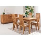 Laud Genf 140x90 9230 + 4 tooli Sandra
