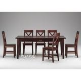 Lauakomplekt Monaco laud 389/1 + 6 tooli, eripeitsid