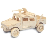 3D pusle Jeep