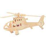 3D pusle helikopter