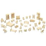 3D pusle mööbli komplekt