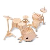 3D pusle trummid