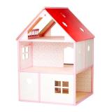 Nukumaja villa Roosi, roosa/valge