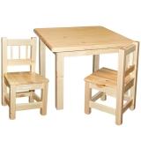 Lastelaud Minni 70x70 + 2 Miki tooli