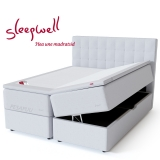 Vedruvoodi Red Pocket Storage 180x200 pehme Sleepwell