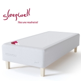 Vedruvoodi RED Pocket 90x200 jäik Sleepwell