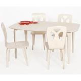 Laud Karjala ja 4 tooli